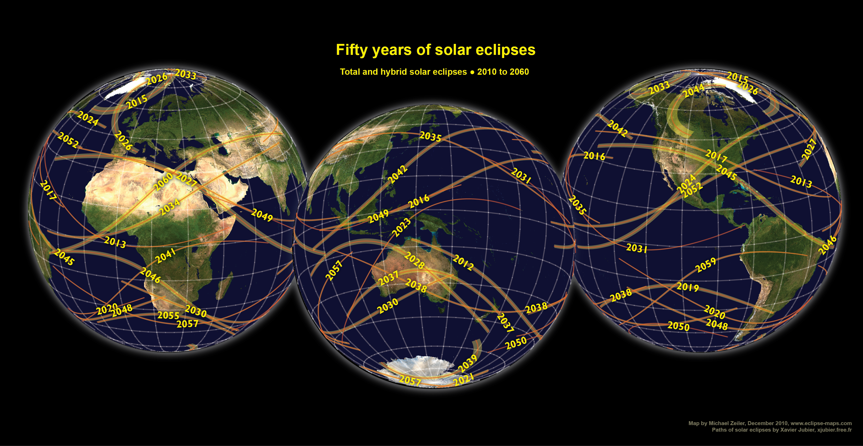 Total Solar Eclipse 2017 World Map.Welcome