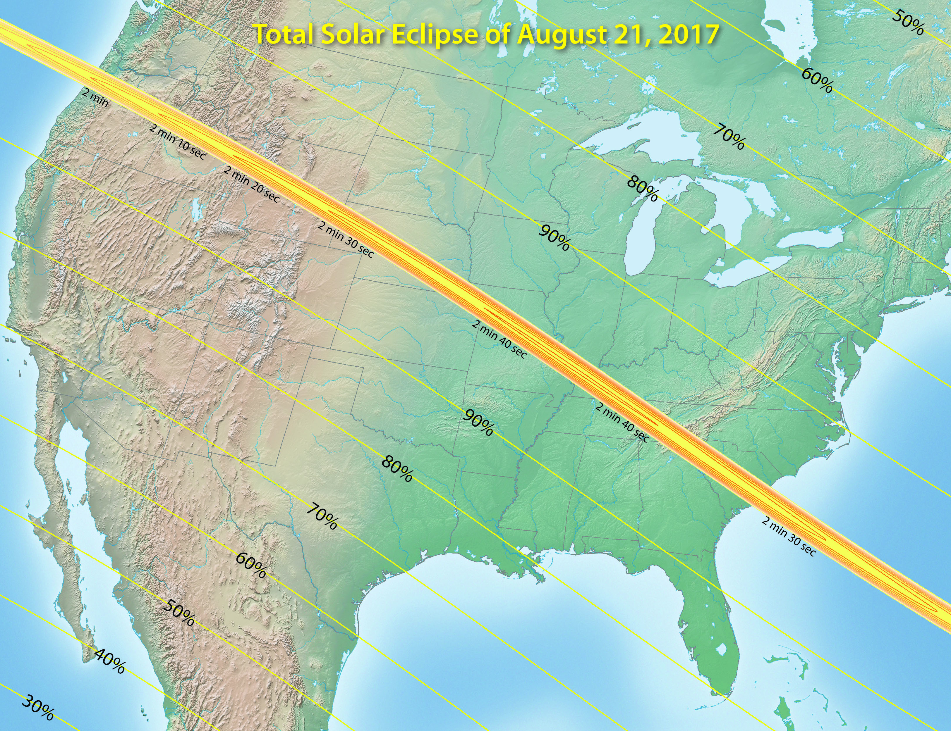 Welcome - Us total eclipse 2017 map