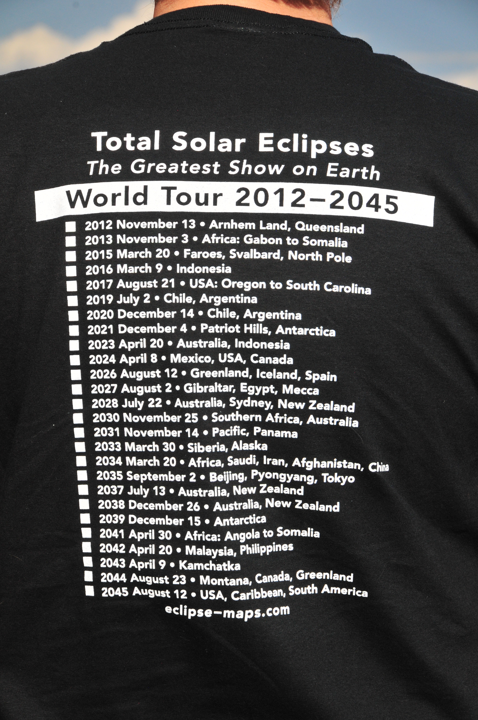 Welcome eclipse t shirts and maps here gumiabroncs Choice Image
